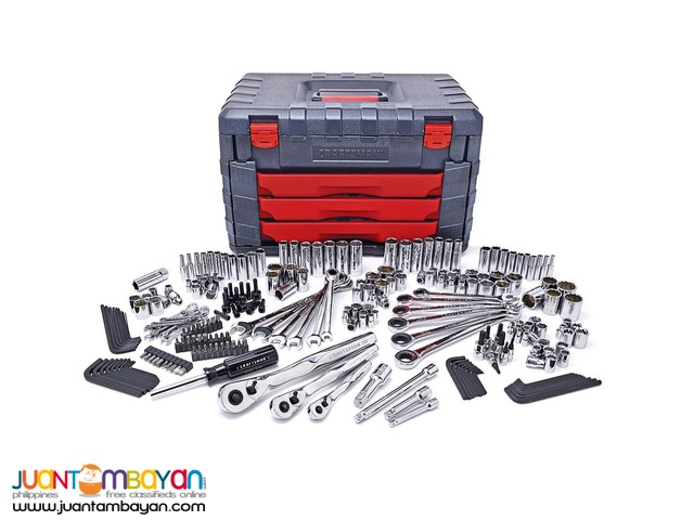 Craftsman 254 PC Mechanics Tool Set with 75 Tooth Ratchets