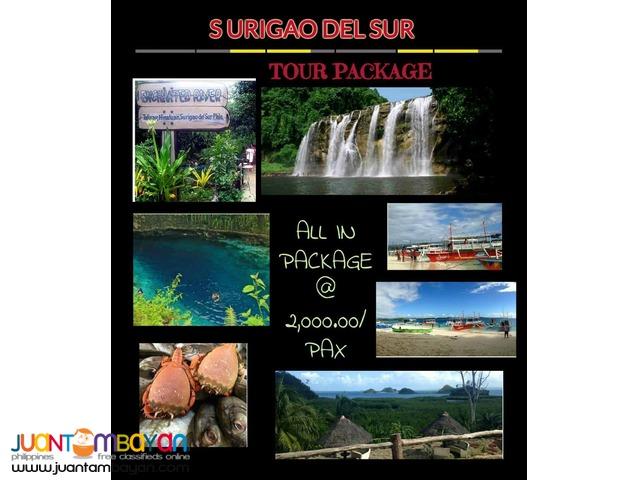 Surigao del Sur tour packages Joiner