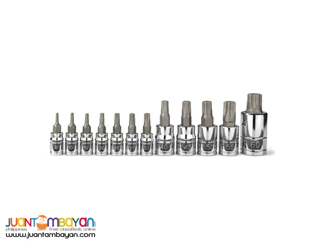 Neiko 10085A 5-point Tamperproof Torx Plus Bit Socket Set