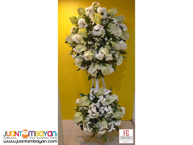 Funeral Flower Delivery in Davao City - FG Davao Flower Shop