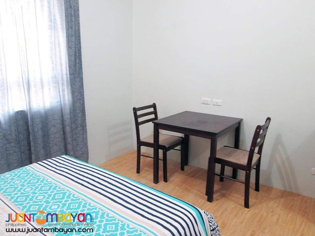18k For Rent Studio Furnished Condo Unit in Lahug Cebu City