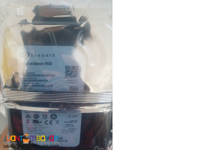 (Seagate 4TB Surveillance HDD) For DVR Recording
