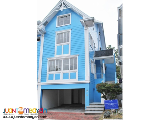 Ready For Occupancy House & Lot for Sale