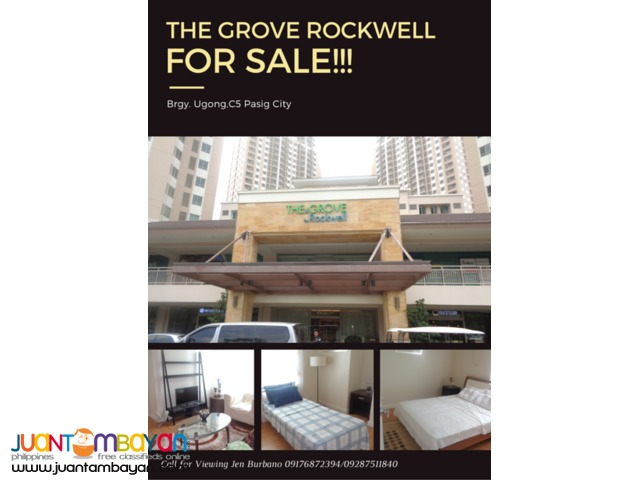 Rush Sale!! 74 sqm 2 BR Unit in The Grove by Rockwell, Pasig City
