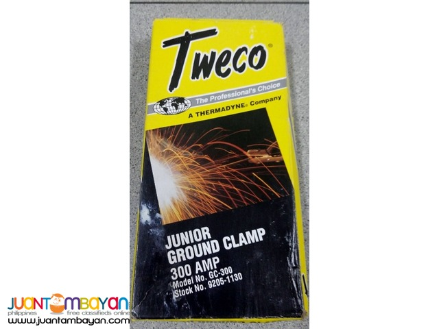 Tweco 9205-1130 GC-300 Welding Ground Clamp, 300-Amp Capacity