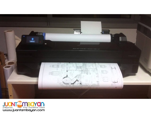 HP DesignJet T120 24' ePrinter