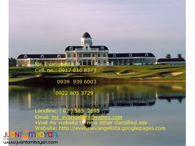 Summit Point Golf & Residential Estate @ P 1,040,400