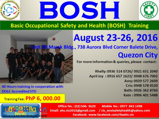 BOSH Training