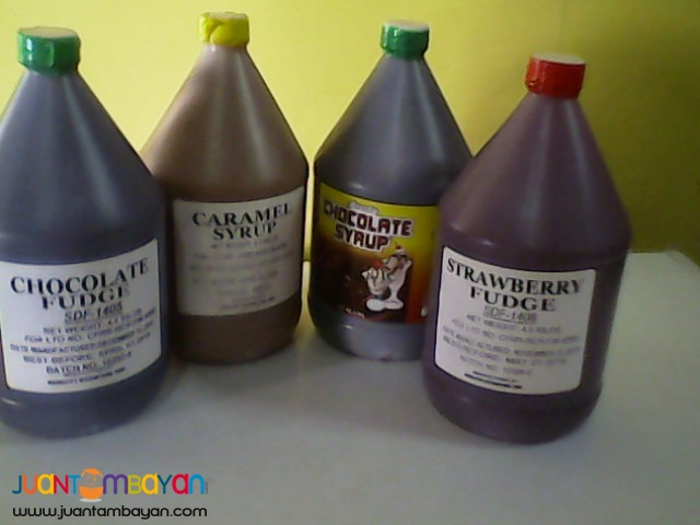 Miguelitos Syrups and Fudge