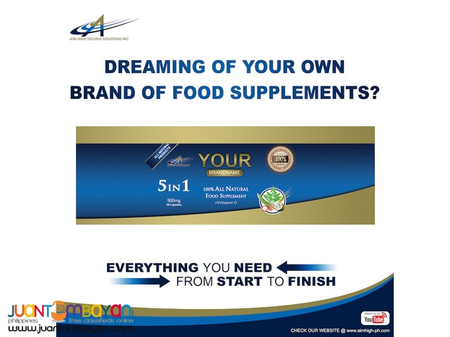 Toll Manufacturing for Food Supplements