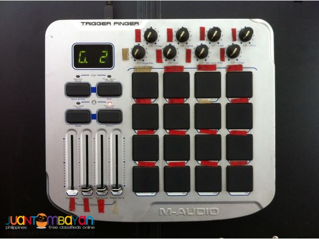 M-Audio Trigger Finger (REPRICED to 6k)