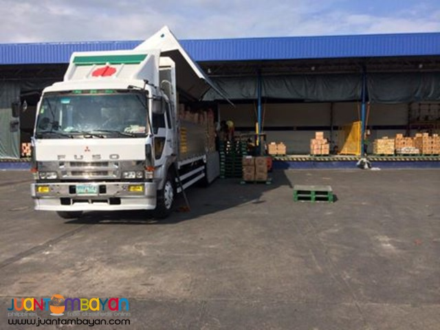 10 wheeler wing van for rent