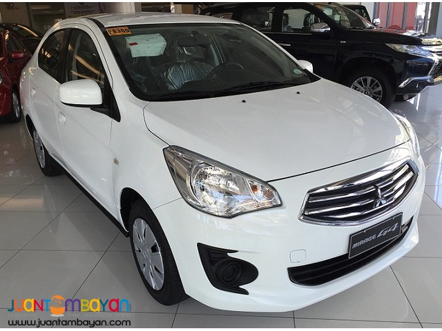 2016 Mitsubishi Mirage G4 Glx at 15K all in promo
