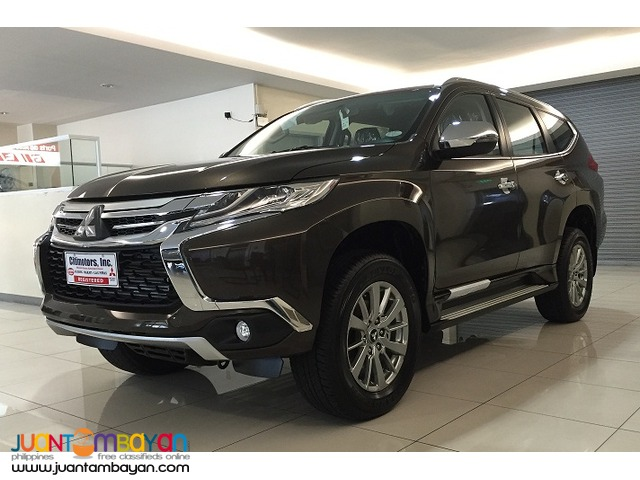 2016 Mitsubishi Montero gls 2wd 8 speed at 75K all in promo