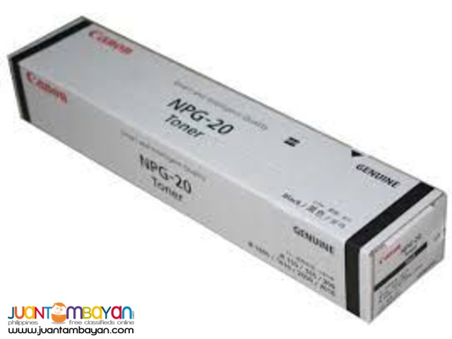 Original Toner Cartridge – Canon NPG-20 for Canon IR1600