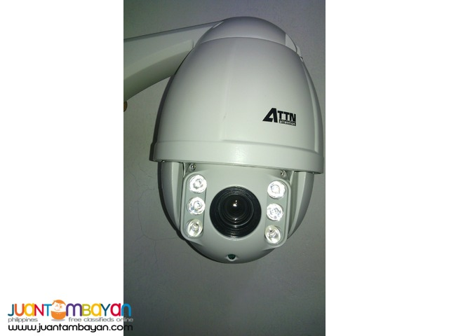 CCTV Speed Dome 2.4 MP (AHD-MINIPT24M Camera)