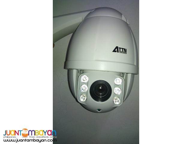 CCTV Speed Dome 2.4 MP (AHD-MINIPT24M Camera)