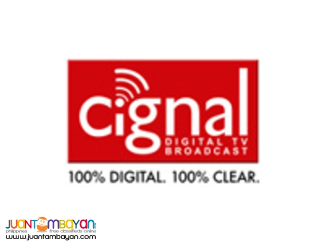 CIGNAL: GET FREE ONE MONTH SERVICE FEE AND WAIVED ACTIVATION FEE