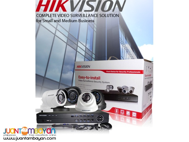 CCTV Full HD 4ch Packages