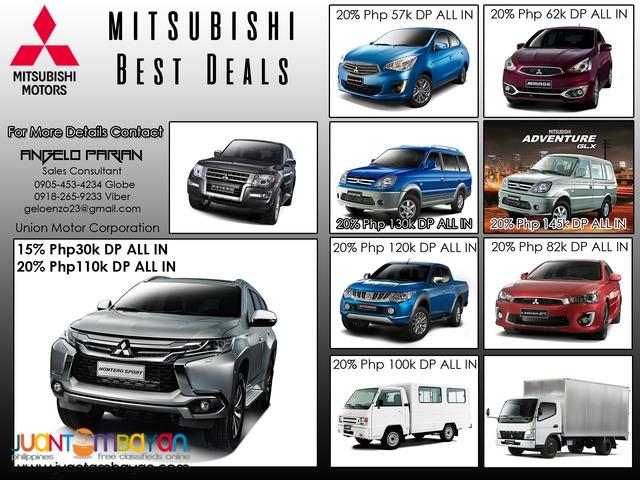 Mitsubishi Best Deals