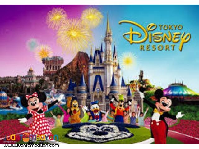 Tokyo Disneyland & Disneysea Attraction Tickets