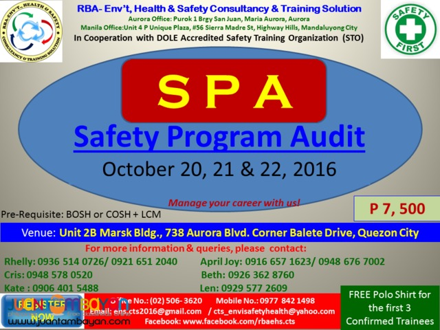 Safety Program Audit