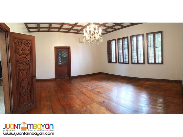 For Lease! 3 Bedroom House in Dasmariñas Village, Makati City