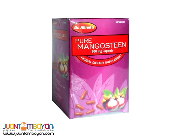 Dr. Alfred Mangosteen capsules 500mg by 60s
