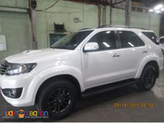 FORTUNER FOR RENT