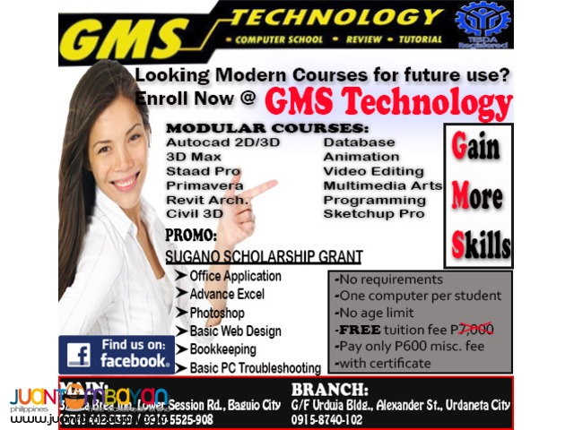 GMS Technology: Short and Long Courses