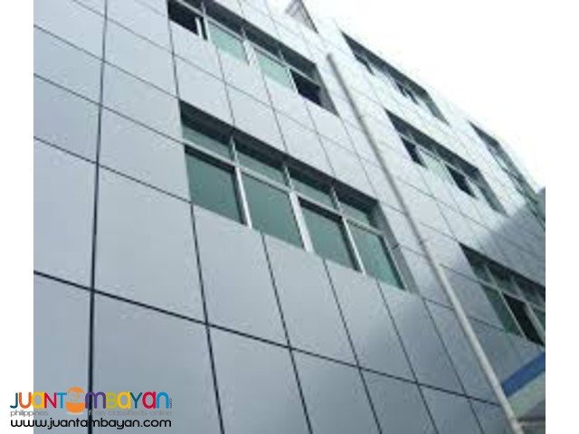 Glass and Aluminum Composite Panel Fabrication and Installation