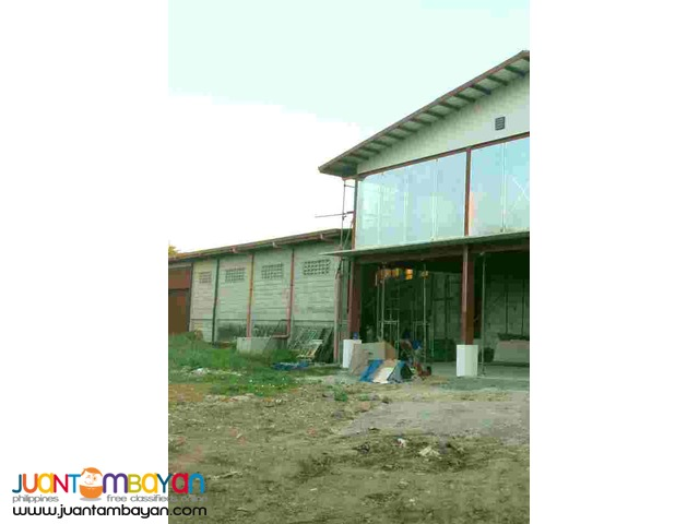 Lot with Warehouse and office for sale near Saranay Road Caloocan City