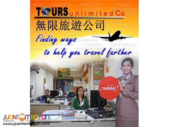 TOURSUNLIMITED CO - Travel consultant and documentation assistance