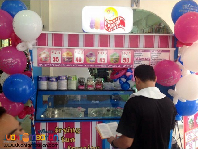 Miguelitos Fried Ice Cream