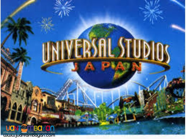 Universal Studios Japan Attraction Ticket