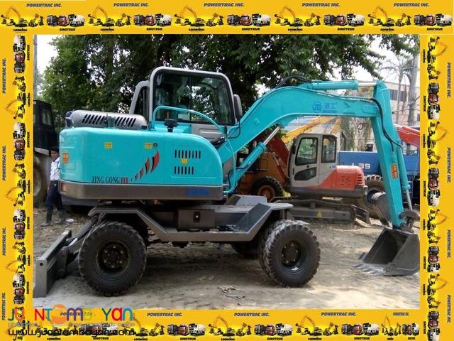 Jinggong JG608S (Wheel Type) Backhoe Dozer/Hydraulic Excavator