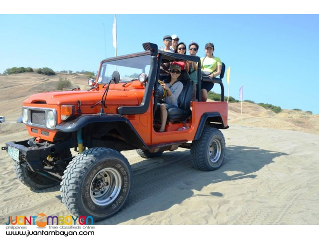 Ilocos Tour Package via Laoag as low as P2,456 per person