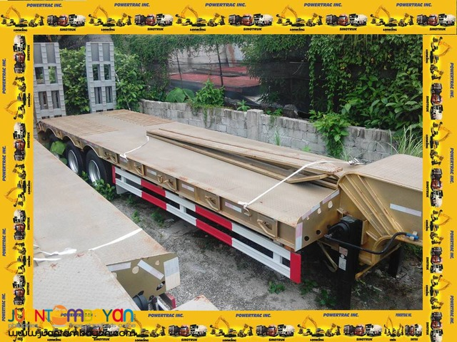 Lowbed Semi-Trailer (60Tons) Flatbed/Tractor Head