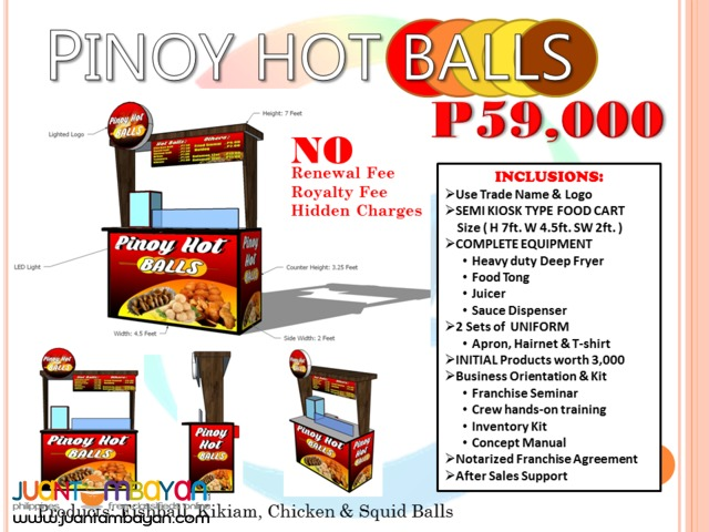 Affordable Food Cart Franchise Business In the Philippines
