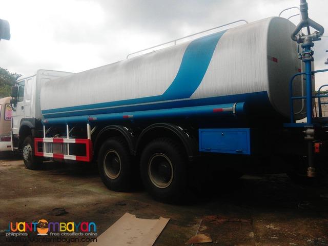 Howo Water Truck 20KL 10 Wheeler Sinotruk Brand New!