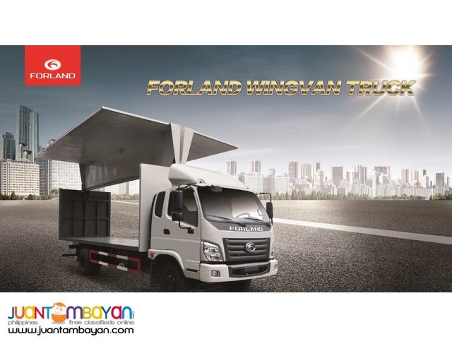 Wing Van Truck 14ft 3tons 6wheeler FORLAND