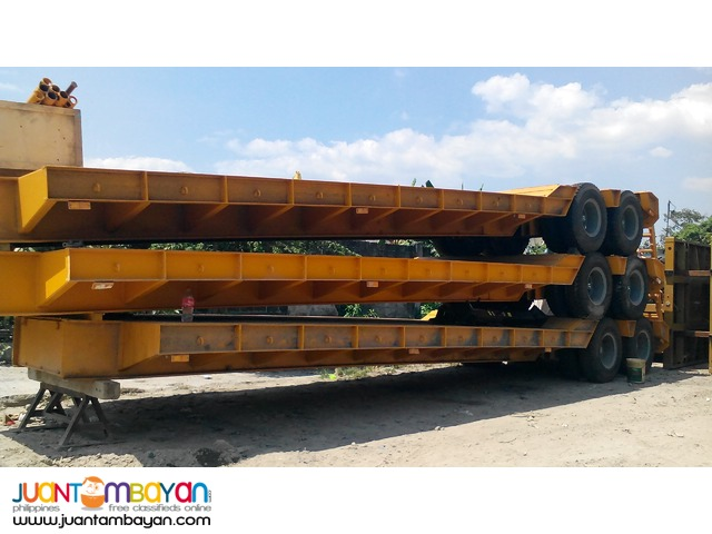 Brand new!  Two-Axle Low bed 45tons Semi-Trailer