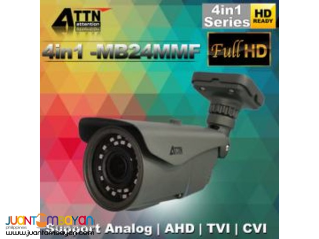 4in1-MB24MMF Outdoor iR Bullet Camera