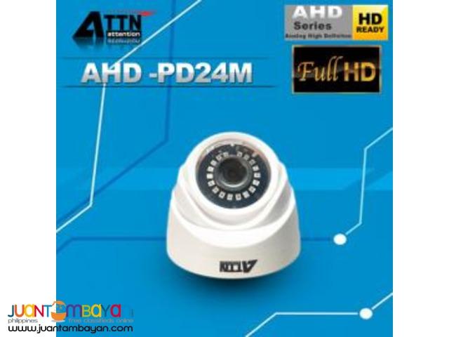 AHD-PD24M Indoor iR Plastic Dome Camera