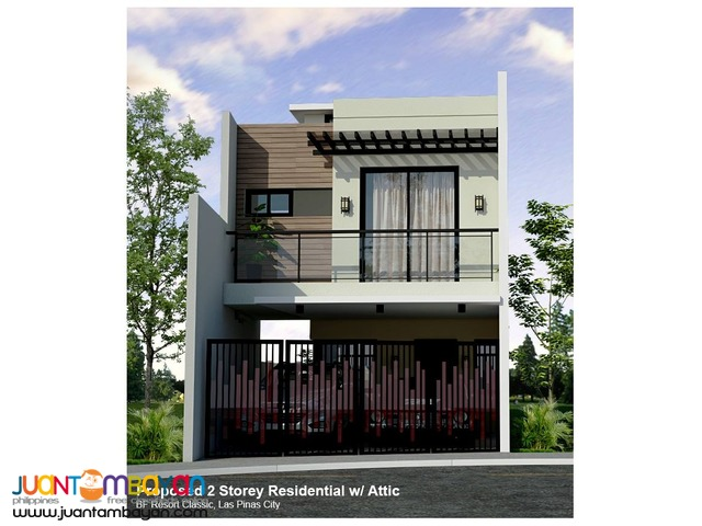 BF Resort Las Pinas Single-Detached House and Lot for sale, 5.18M