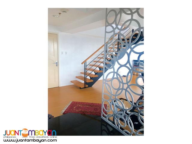 For Lease 2 Bedroom Penthouse Loft at One Rockwell West, Makati