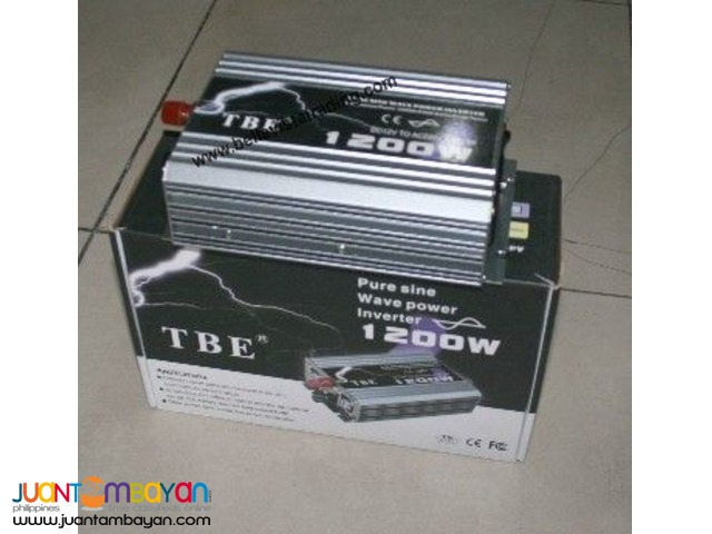 TBE Pure Sine Wave Inverter 4000W 12V to 220V(EDSA,Cubao)