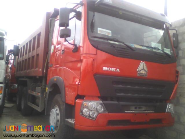 Sinotruk 10 Wheeler SHJ10/Hoka-H7 Dump Truck 371HP 20m³
