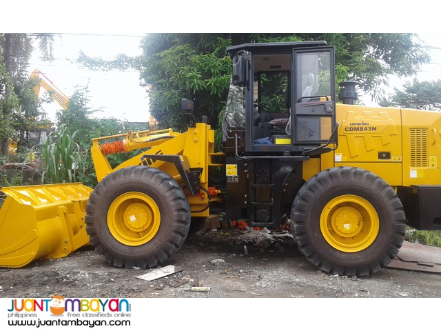 (Weichai Engine) 2.3m3 Capacity CDM843N Wheel Loader Lonking