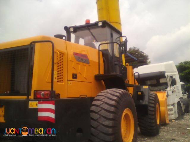 3.5m3 Cap. Lonking CDM860 Wheel Loader (Weichai Engine)